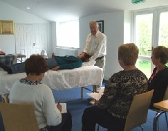 Relaxation Training Course Students and Tutor - Practitioner Course